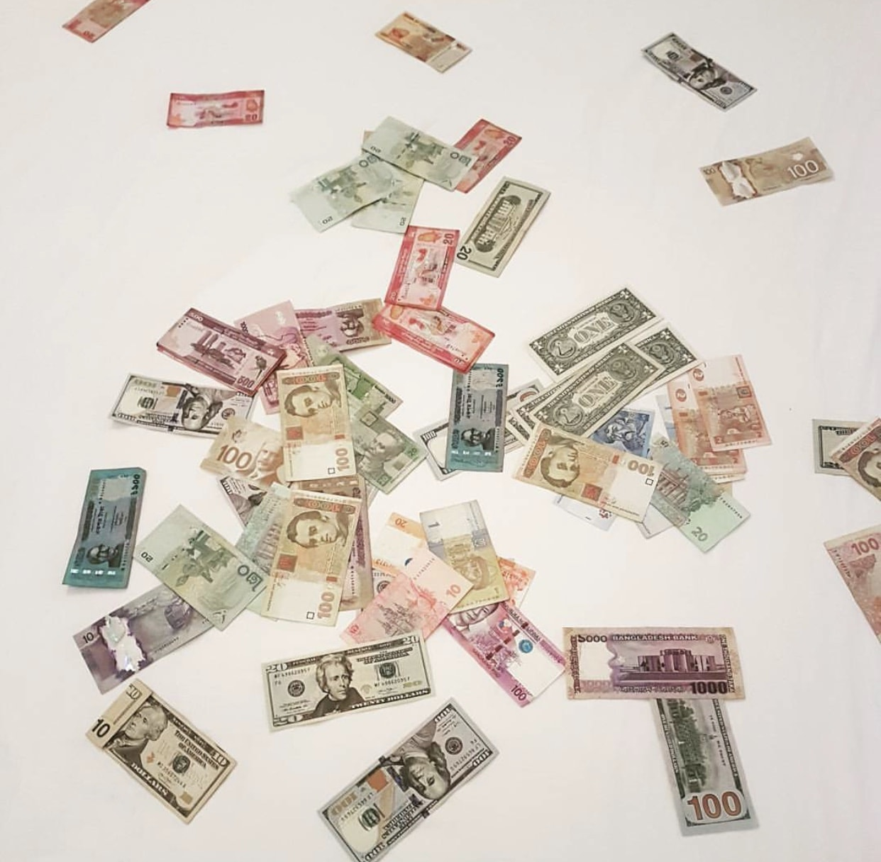 Carrying Foreign Currency Abroad, Travel Tips
