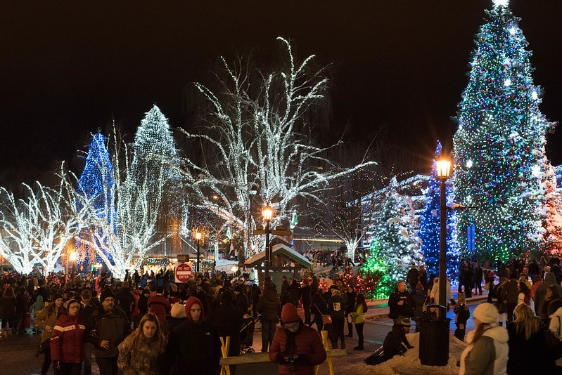 Leavenworth Christmas lights Festival