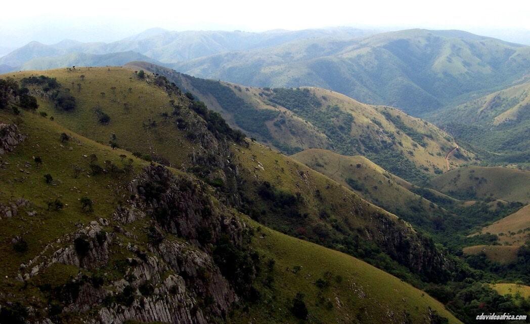 Barberton Makhonjwa Mountain Land , South Africa