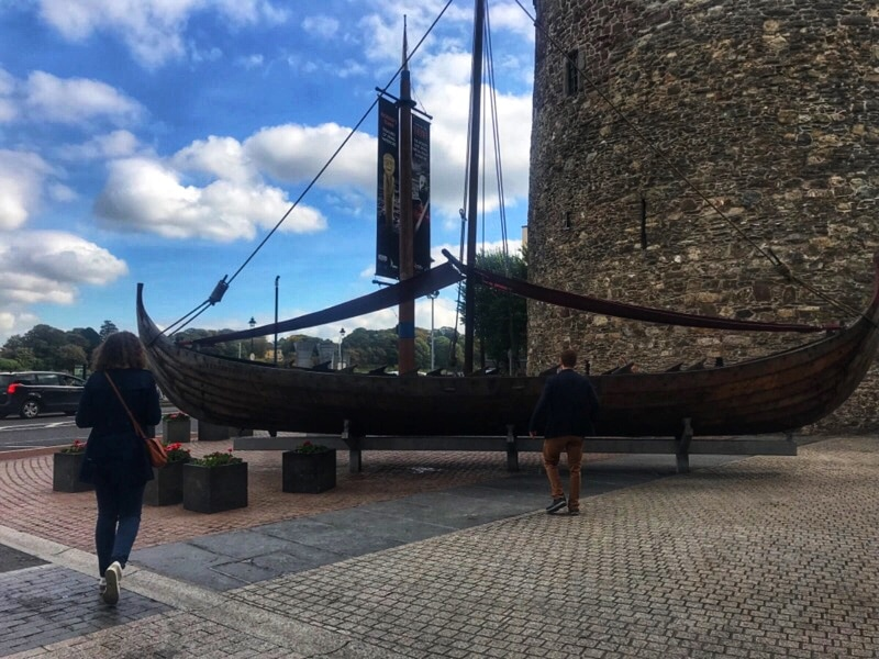 7 days in Ireland - Vikings Boat Replica