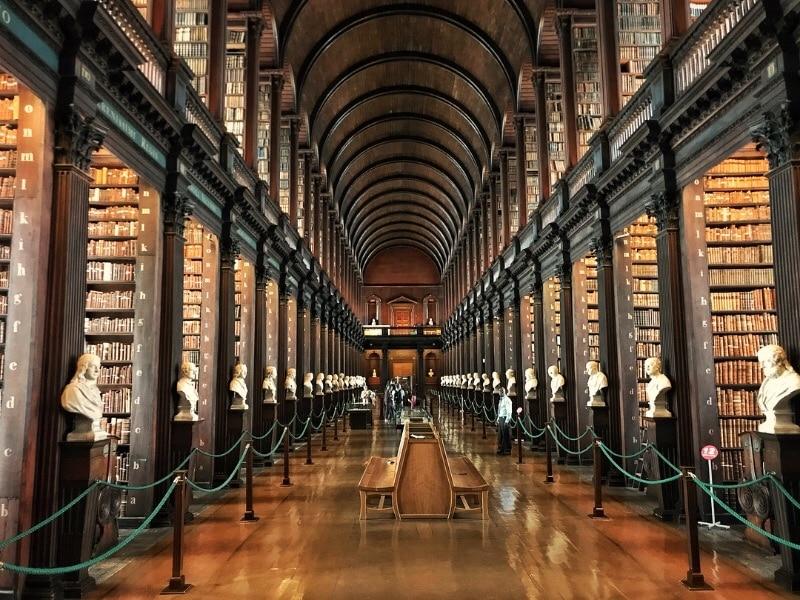 Book of Kells, Trinity College, Dublin, Ireland