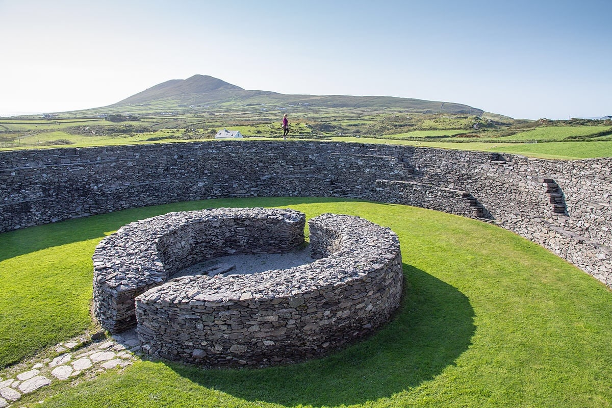 Cahergall Stone Fort, Ring of Kerry