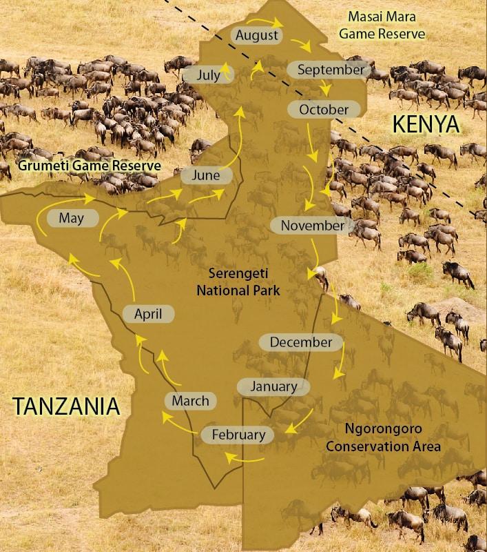 where is the serengeti