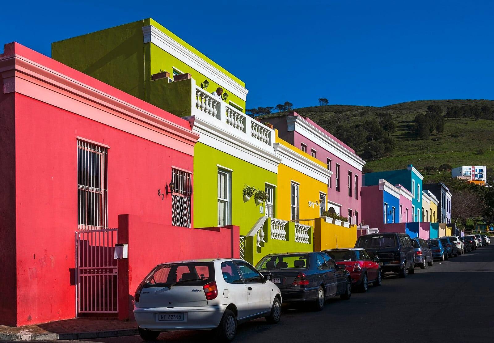 Landmarks in South Africa - Bo Kaap Cape Town