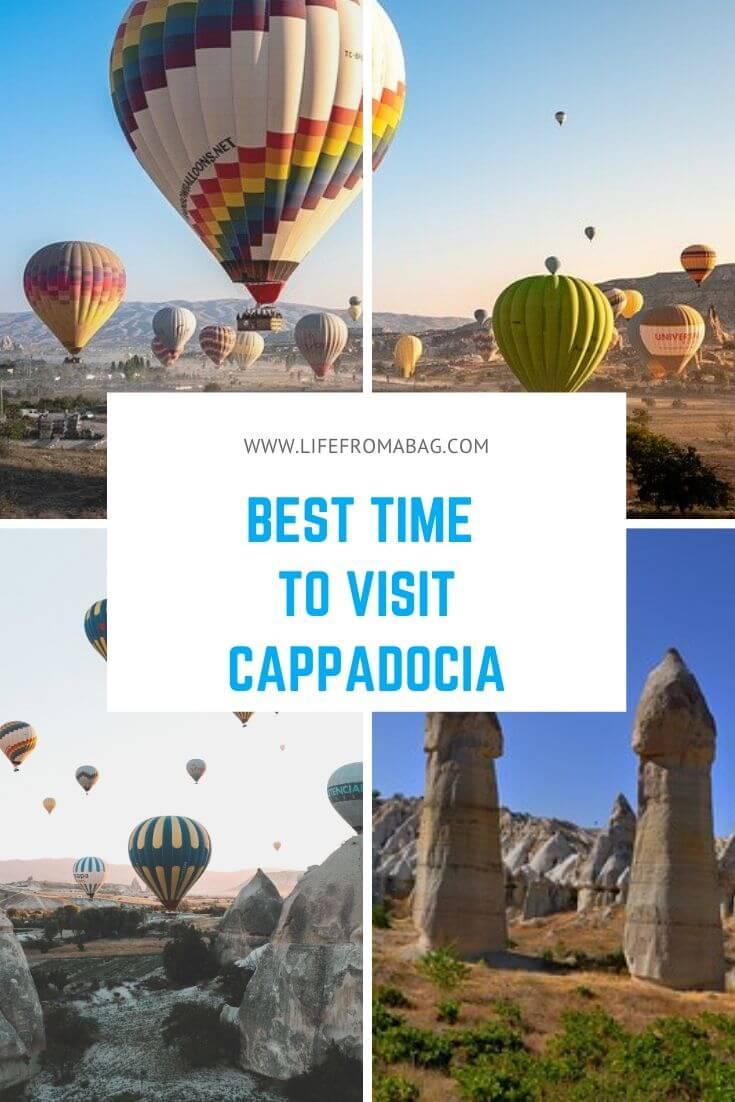 Best time to visit Cappadocia Turkey