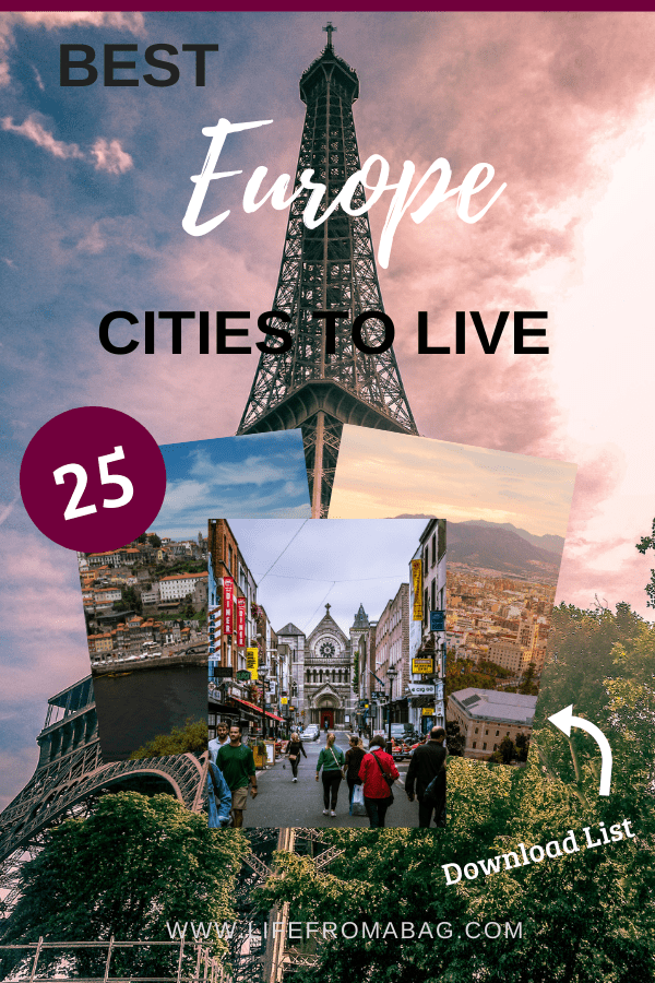 Places to live in Europe