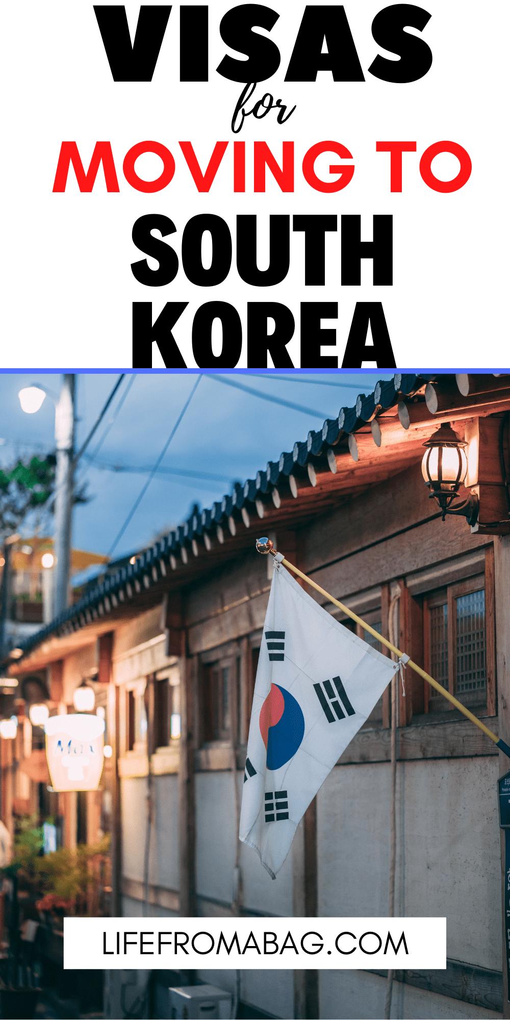 Move to South Korea